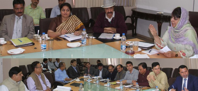 CM chairs 9th meeting of Gulmarg Development Authority