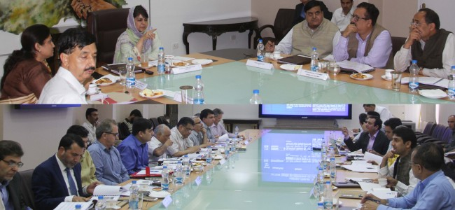 CM chairs 19th meeting of Patnitop Development Authority