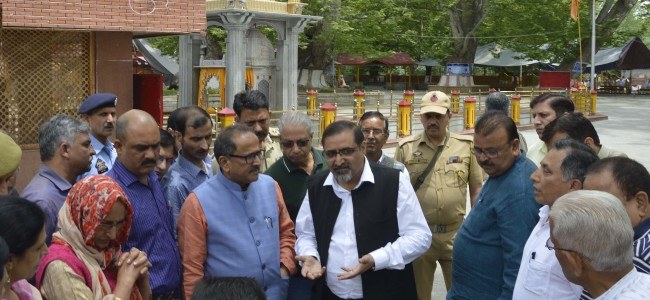 Dy CM reviews Mela Kheer Bhawani arrangements
