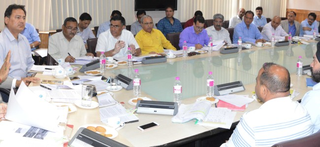 Dy CM directs for undertaking developmental schemes in mission mode