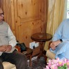 Omar Abdullah meets Governor