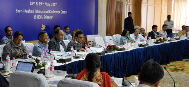 GST Council Meet: Dr Drabu takes stock of arrangements at SKICC