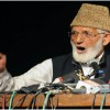 Tall claims of Indian leadership about democracy a hoax: Geelani