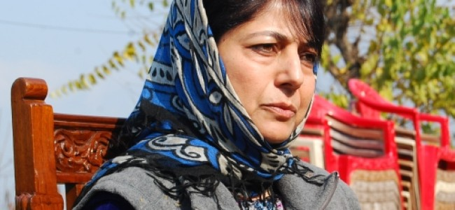 Break new grounds in medical research, patient care: Mehbooba tells SKIMS faculty