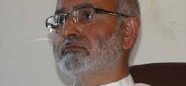Massive road upgradation programme to be launched across JK: Naeem Akhtar