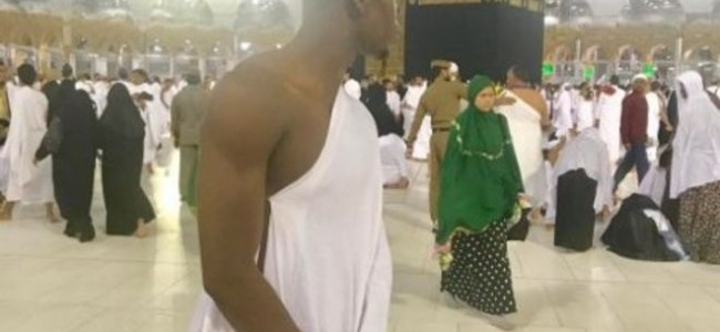 Paul Pogba, world's most expensive footballer, performs Umrah