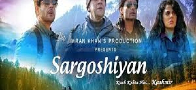Premiere of Bollywood movie 'Sargoshiyan' first time launched in Kasshmir