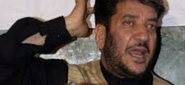 """Shabir Shah's wife """"questioned"""" by ED in New Delhi"""