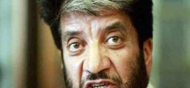 Syed Salahuddin an icon of Kashmir's freedom movement: Shabir Shah