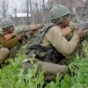 Four militants killed in Machil sector; two soldiers injured in Uri