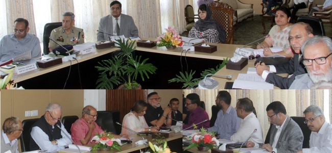 CM chairs Governing Body meets of RSGC, TGC