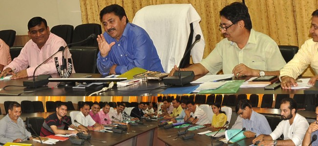 DDC chairs DLRC, RSETI meet