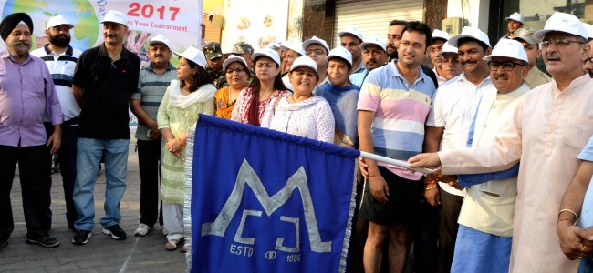 WED: Speaker, Dy CM flag off awareness rally