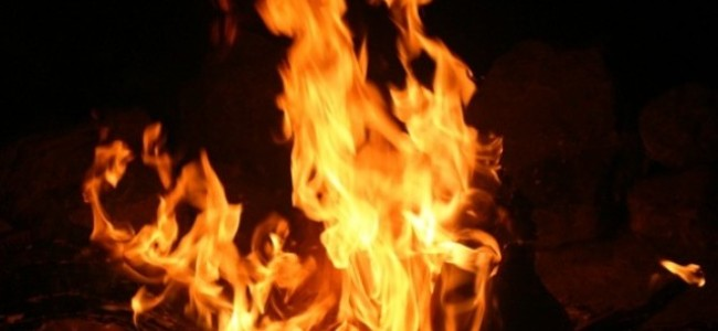 Residential house damaged in fire