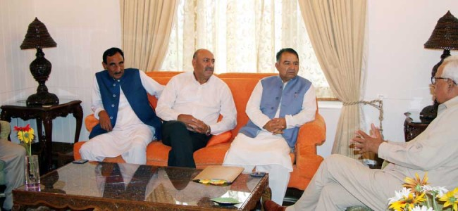 INC delegation meets Governor
