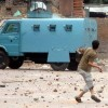 Clashes amid CASO in Bandipora Village