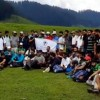 Tourism Deptt organizes maiden trek to Bangus Valley