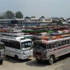 Protests at Battamaloo bus terminals against shifting to Parimpora