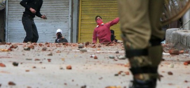 Clashes after CASO in Shopian