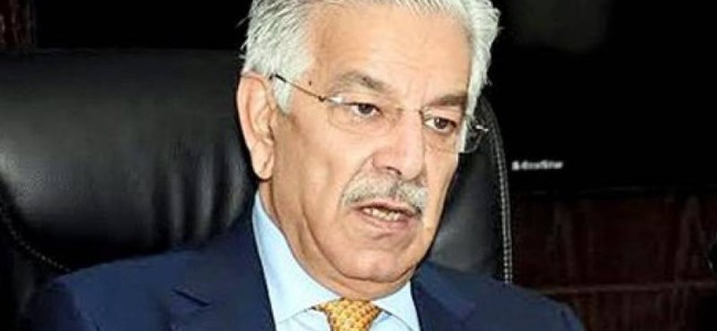 Pakistan's overtures should not be construed as weakness: Khawaja Asif