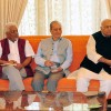 Sinha-led Track II team meets Governor
