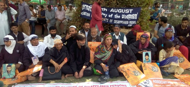International Day of Disappeared commemorated in Srinagar