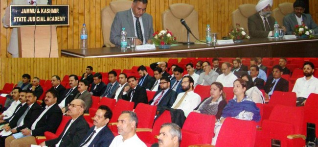 JKSJA organizes One Day Conference on 'Cyber Law'