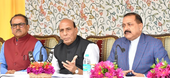 Pak will have to stop 'ceasefire violations' sooner or later: Rajnath