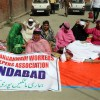 Aganwadi workers resume hunger strike after week
