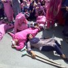 In pictures: Protesting Anganwari employees march in city centre Lal Chowk