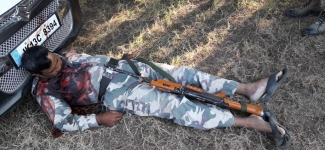 CRPF constable commits suicide
