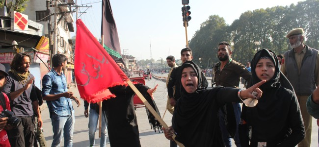 Muharram in pictures: Procession, Restriction, Tear-Gas, Detention