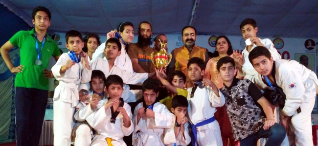 GVEI wins Gold, Silver, Bronze in All India Tong-il moo-do championship