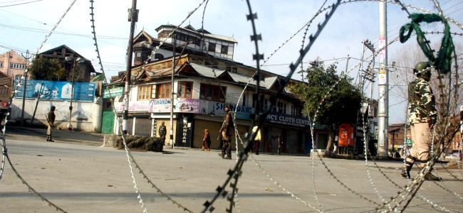 Hurriyat Conference (M) terms curbs, house arresting its chairman as 'very sad'
