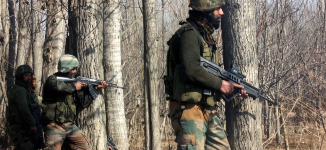 Militant killed in Kupwara woods
