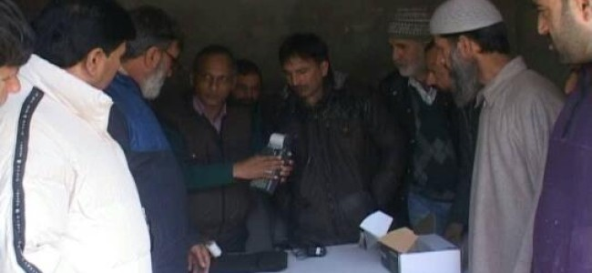 Its about transparency says Commissioner secretary, Ganderbal gets PoS machine