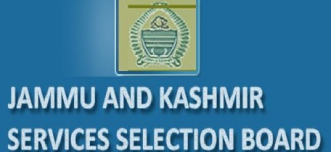 JKSSB issues 90 selection lists
