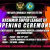 Kashmir Super League III: 16 contenders, 256 players, 54 matches, 1 winner, Opening ceremony on Friday