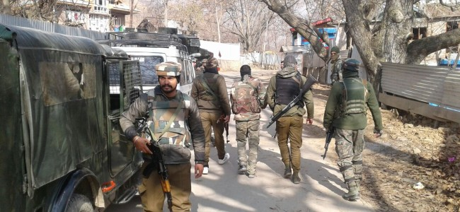 Sopore Encounter : One militant killed, operation continues