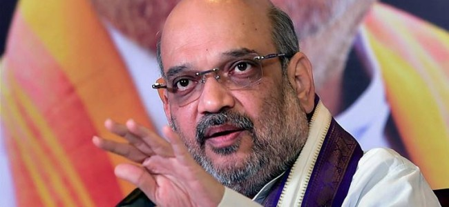 Amit Shah moves resolution to extend President's rule in Jammu and Kashmir for 6 months