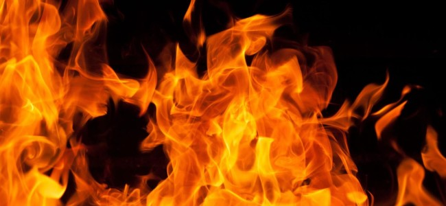 Five structures gutted in two fire incidents in Karnah, Tangdhar