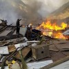 Entire village destroyed by fire in Pakistan