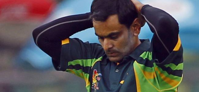 PAK player Mohammad Hafeez suspended again for illegal action