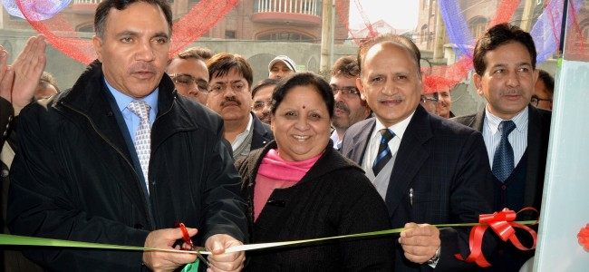 J&K Bank commissions 2 ATMs at SKIMS, 1 at Umar Colony