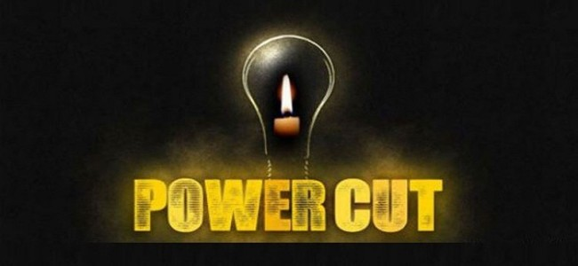 Power shutdown in Srinagar parts