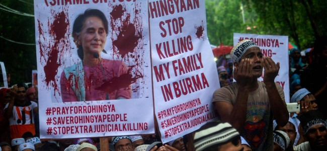 Myanmar building military base over flattened Rohingya villages: Amnesty International