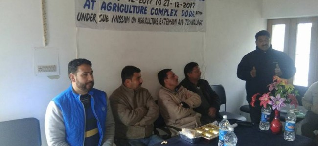 Farmer scientist interaction prog held in Doda
