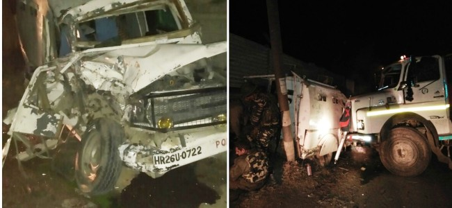 4 CRPF personnel injured in Humhama road mishap