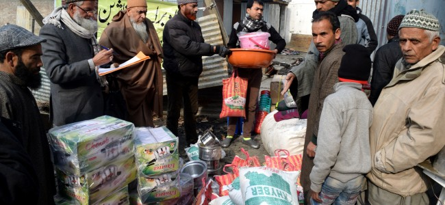 Darul Khair distributes relief among Baghi Mehtab fire victims