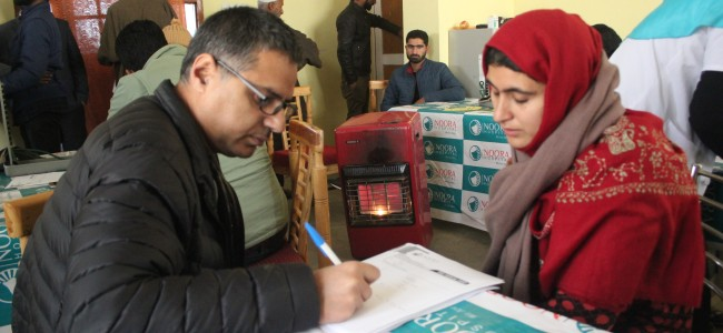 Sopore: People benefit from free medical camp by Noora Hospital